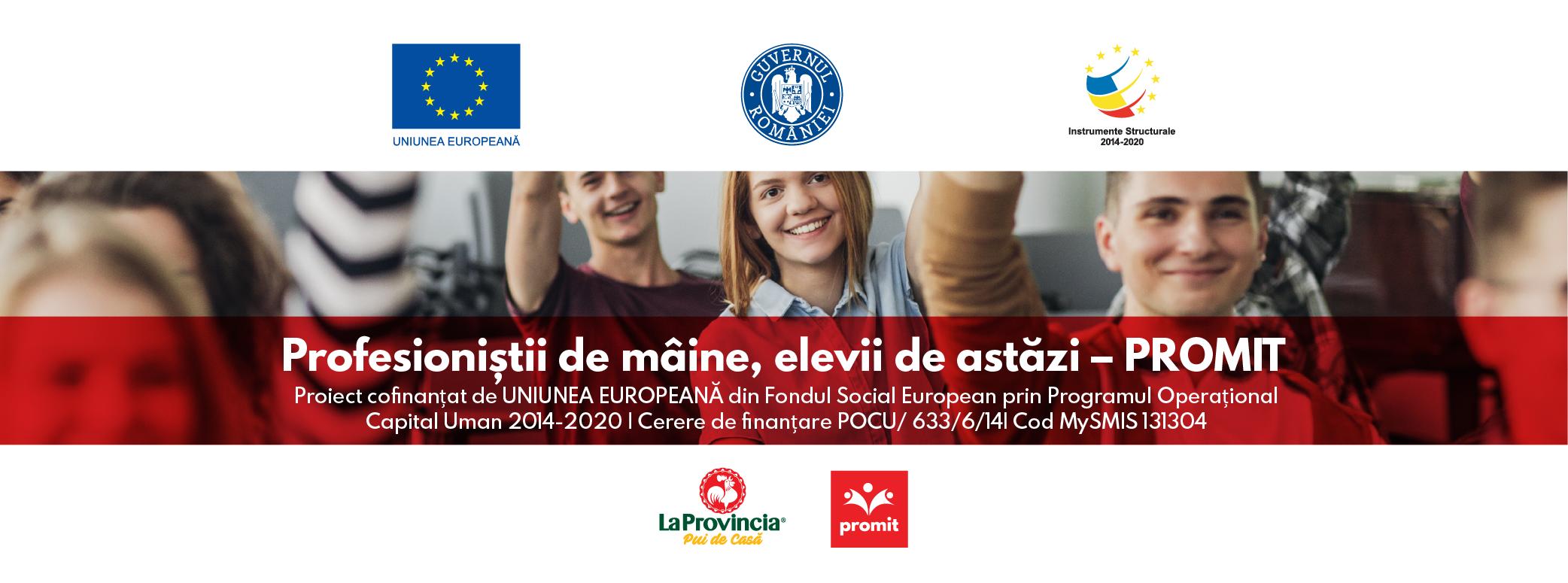 """Compania Avicarvil demarează programul """"Profesioniștii de mâine, elevii de astăzi – PROMIT"""""""